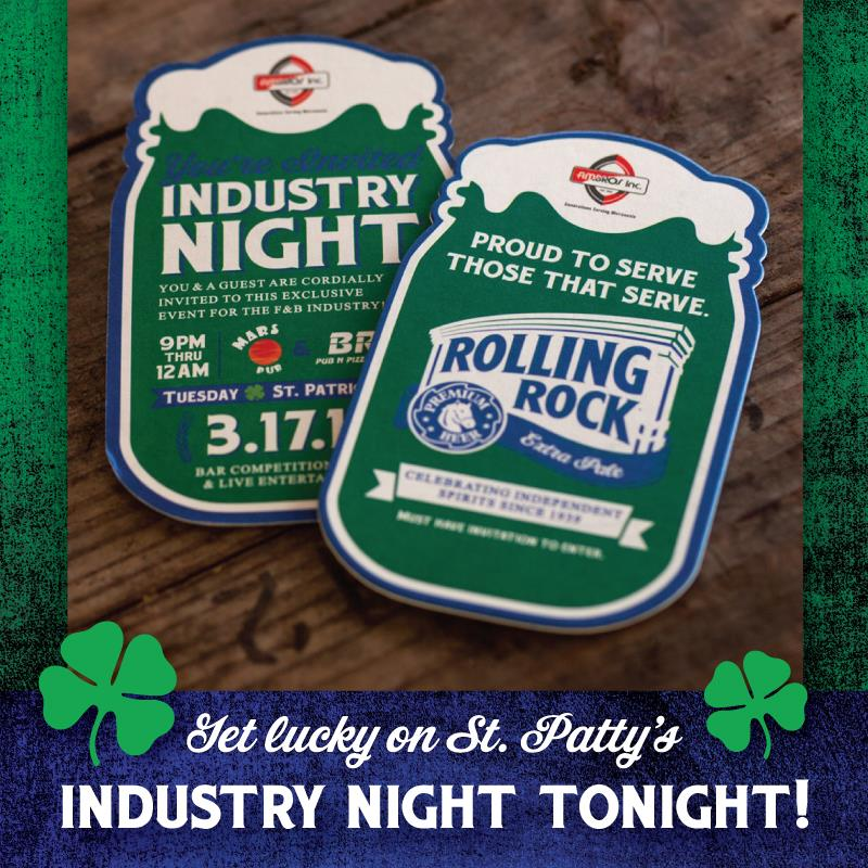 Rolling Rock presents Industry Night