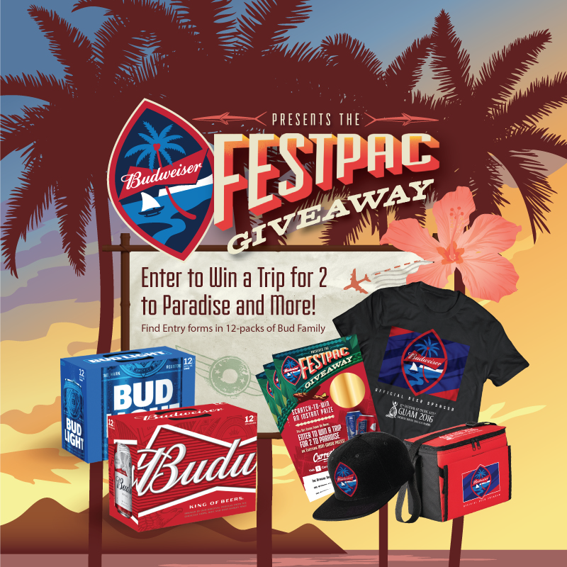 Budweiser FestPac Giveaway