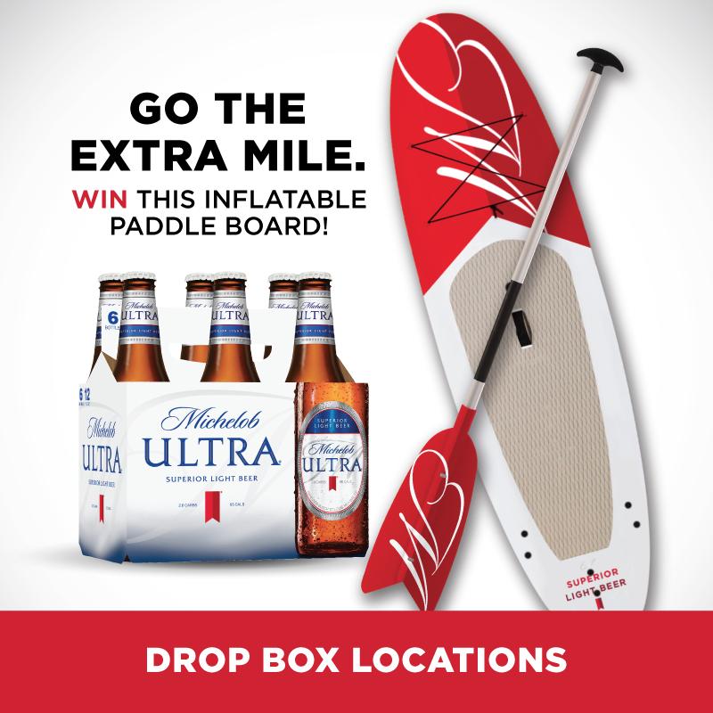 Michelob Ultra Drop Box Location