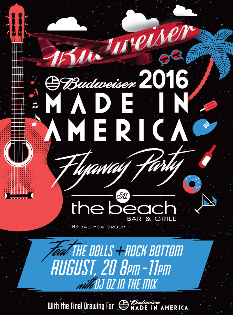 Made In America Flyaway Party