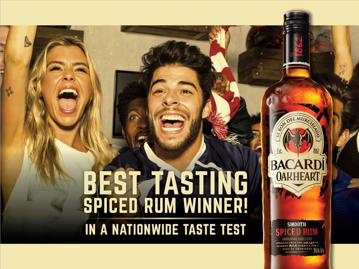 Best Tasting Spiced Rum