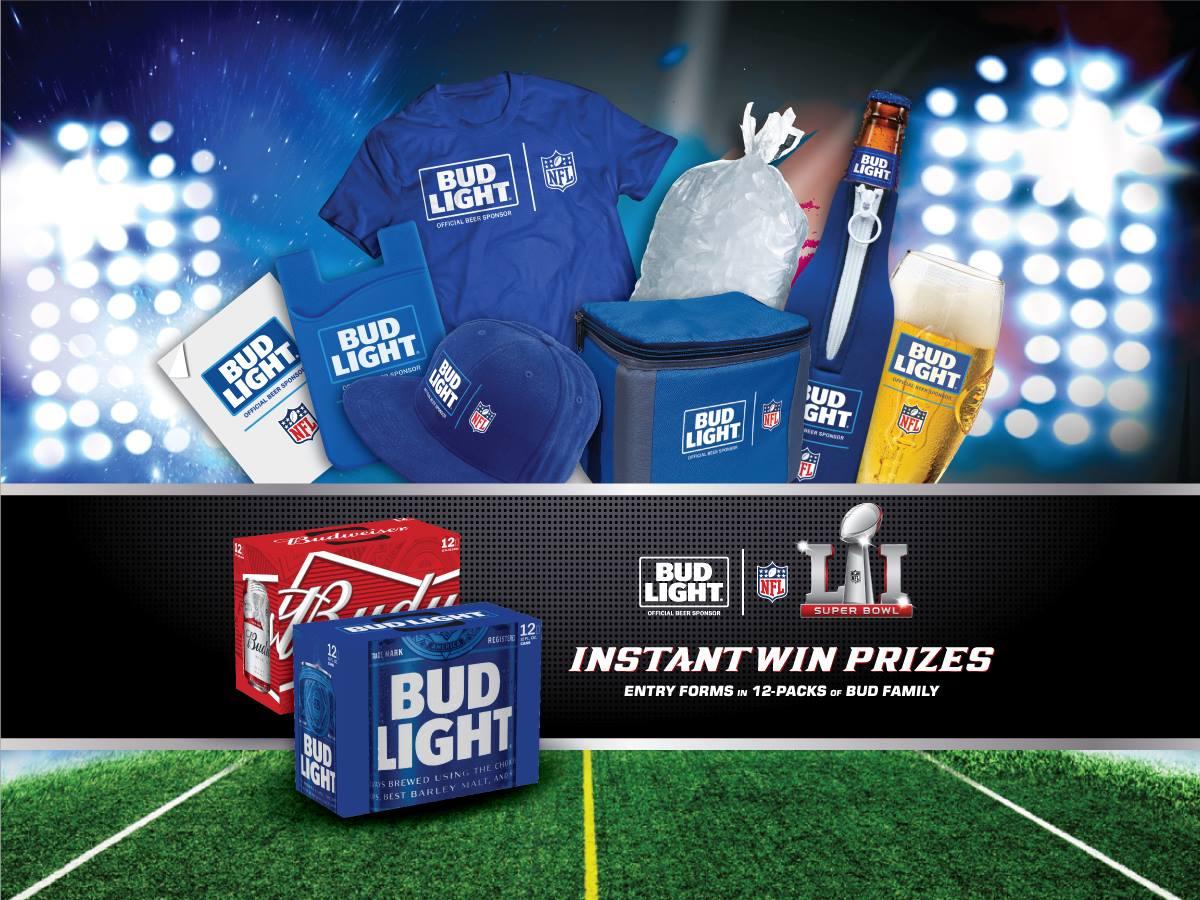 Super Bowl 51 Instant Win Redemption 10/28-10/30