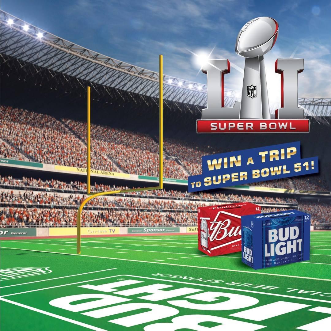 Super Bowl 51 Instant Win Redemption 11/18-11/20