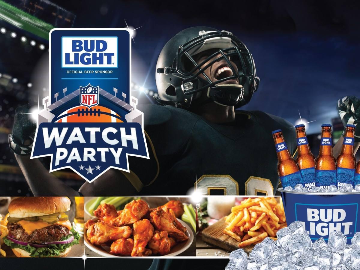 NFL Watch Parties 12/2-12/6