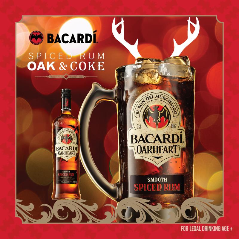 Bacardi Oak & Coke