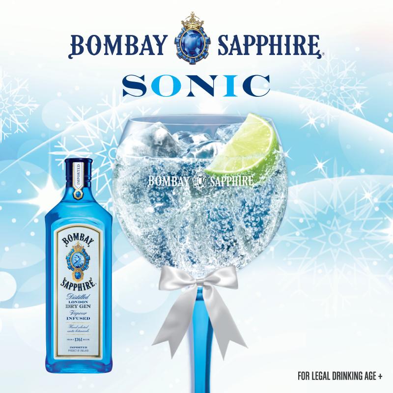 Bombay Sapphire Sonic