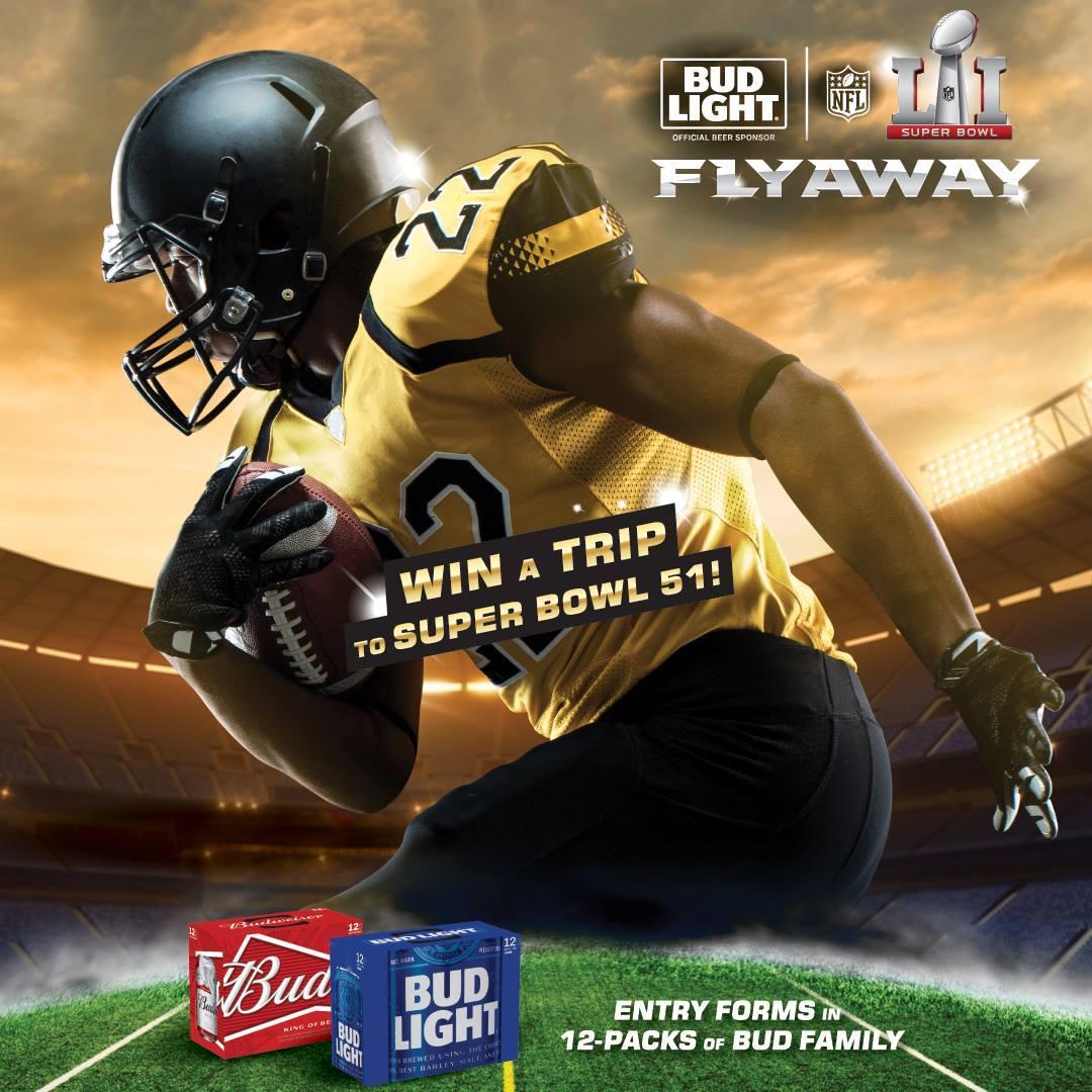 Super Bowl 51 Instant Win Redemption 12/9-12/11