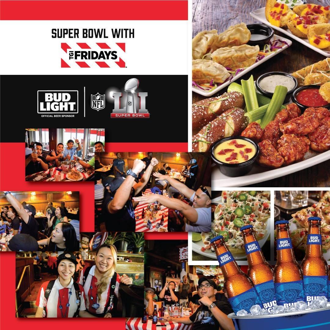 TGIF Super Bowl 51 Watch Party