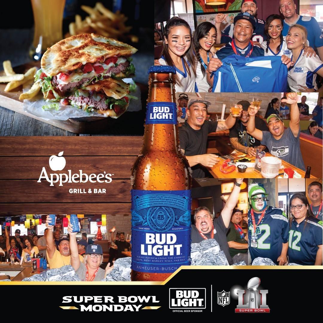 Applebee's Super Bowl 51 Watch Party