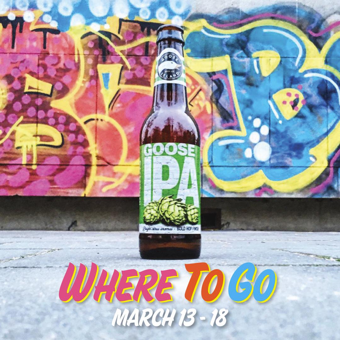 Where to Go 3/13/17-3/18/17