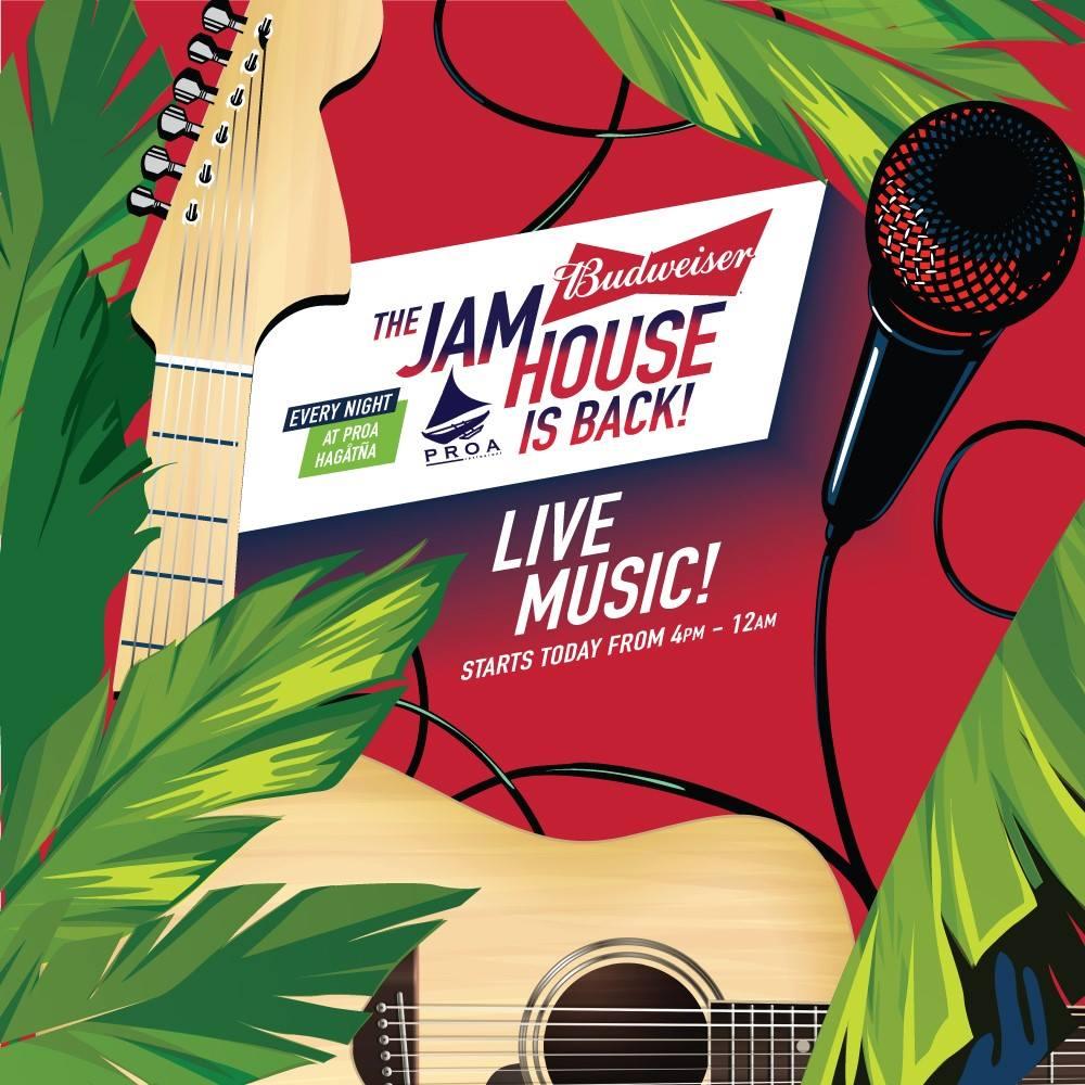 Bud Jam House Saturday Line-Up