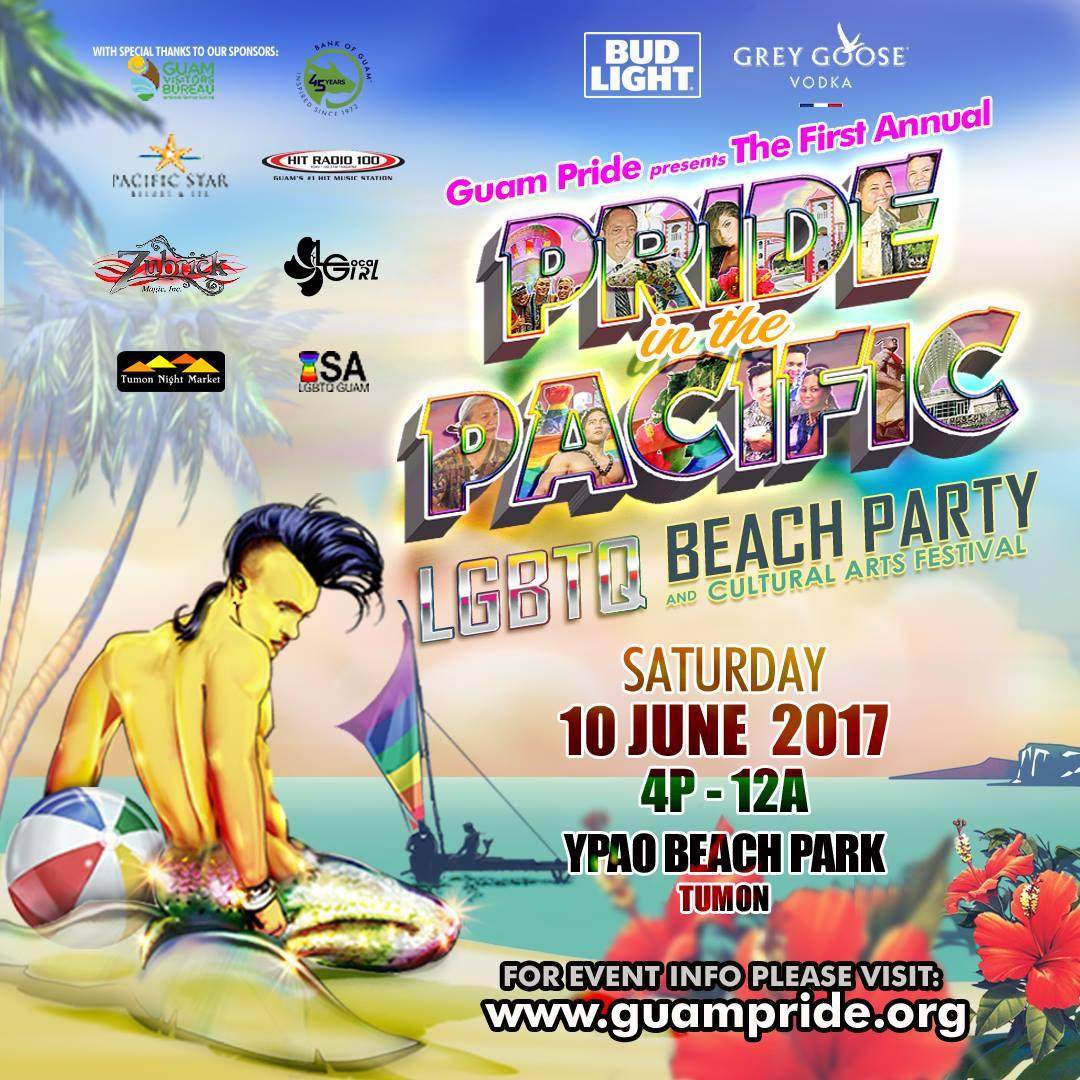 Pride In The Pacific LGBTQ Beach Party & Cultural Arts Festival