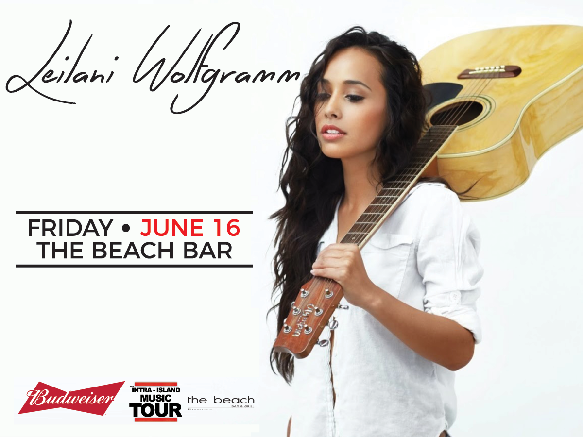 Leilani Wolfgramm Live at the Beach Bar