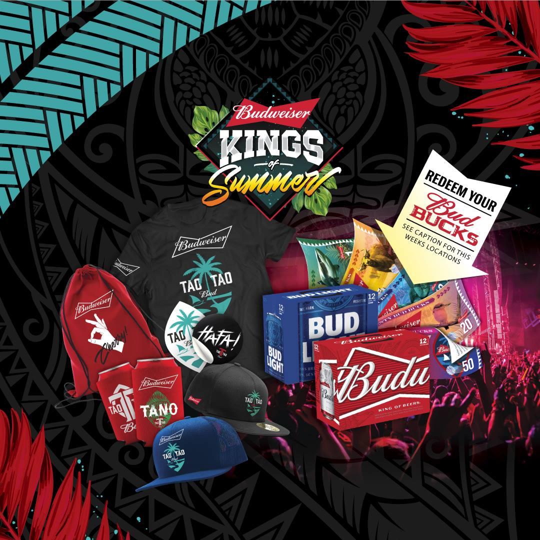 Kings of Summer Redeem Team Locations 8/2-8/5