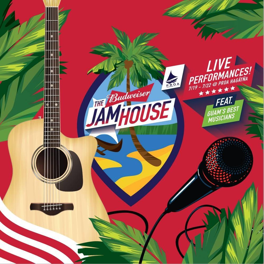 Bud Liberation Jam House Line-Up 7/19