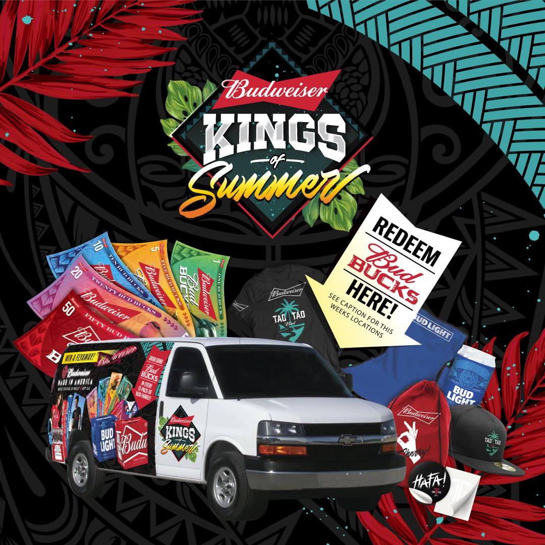 Kings of Summer Redeem Team Locations 7/26-7/29