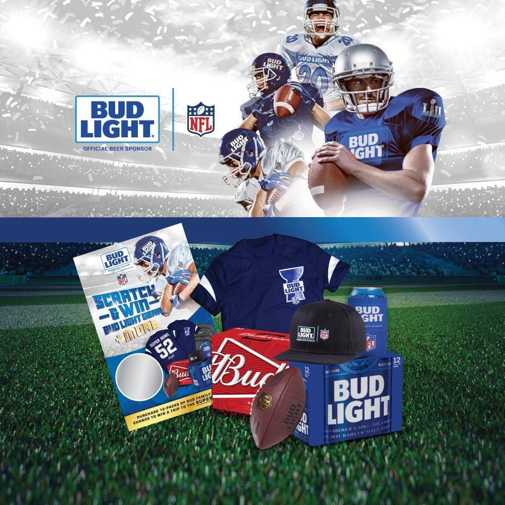 Bud Light Super Bowl 52 Flyaway