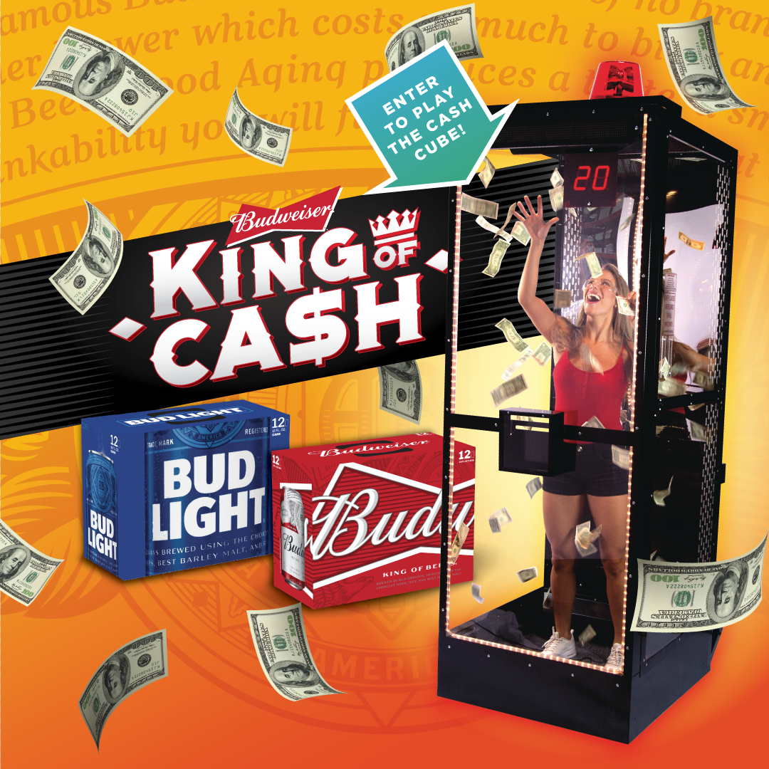 King of Cash Redemption Locations 6/28-7/1