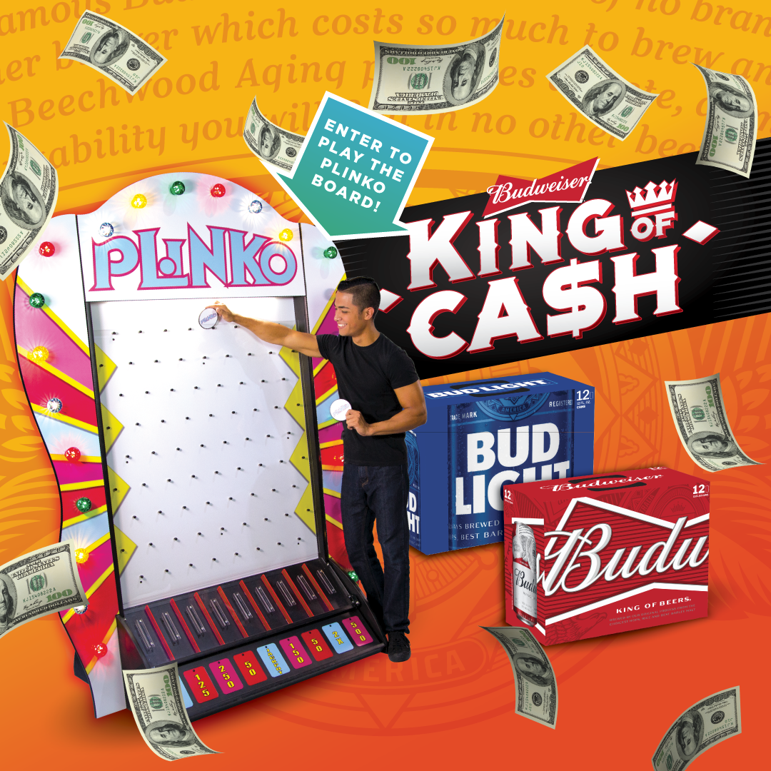 King of Cash Redemption Locations 6/21-6/24