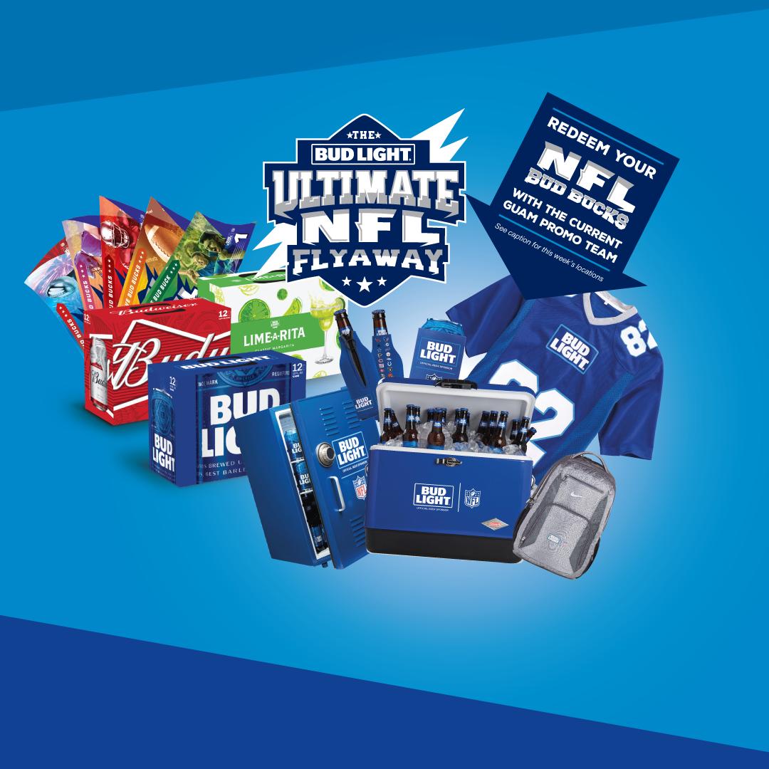 Bud Light Ultimate Flyaway Redemptions 11/29-12/1